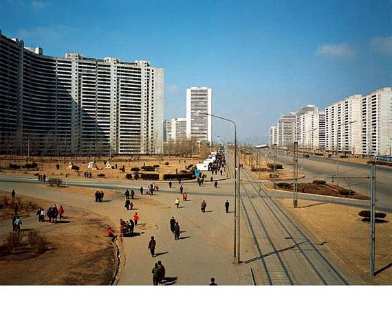 Armin Linke, Kwangbok Street Pyongyang North Korea, 2005Courtesy Galerie Klosterfelde