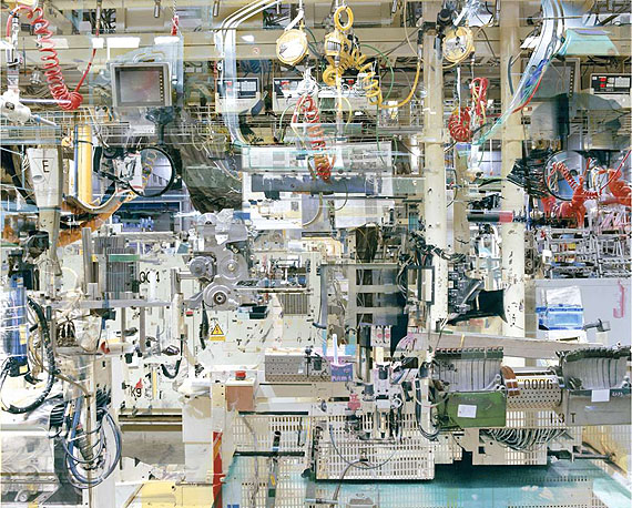 Stéphane Couturier (*1957, French)Usine Toyota n°11, from the series Melting Point (Valenciennes)2005C-Print with Diasec Face in Artist's Frame92 x 113 cm ( 36 1/4 x 44 1/2 in. )Edition of 8; Ed. no. 4/8© the artist, courtesy of Christophe Guye Galerie, Zurich (Switzerland)