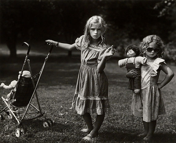 Lot 194: Sally Mann, The New Mothers, silver print, 1989. Estimate $25,000 to $35,000. © Sally Mann
