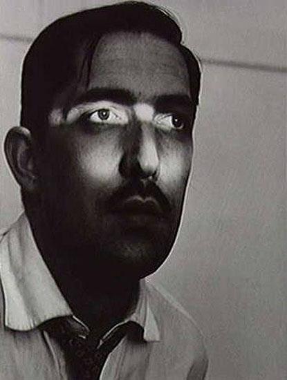 © Geraldo de Barros, Autoportrait, Sao Paulo, 1950