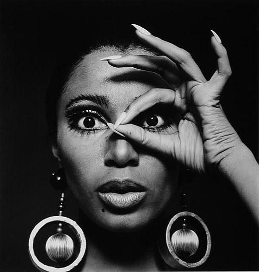 Donyale Golden Earrings '66© Charlotte March