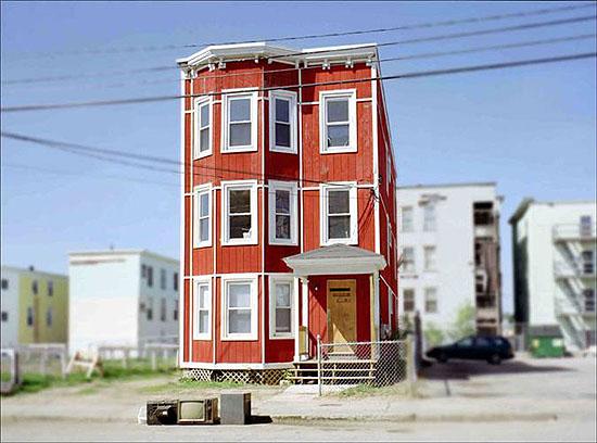 """""""domicile 1"""", Lewsiton, Maine, 2007"""