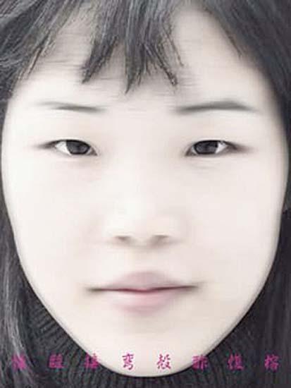 Face Codes, 1998/99Digital prints, 80 x 60 cm, édition à 8 exemplaires.