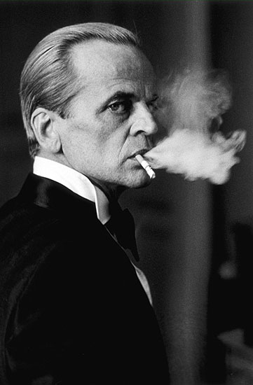 © Beat Presser, Klaus Kinski in Paris, 1977