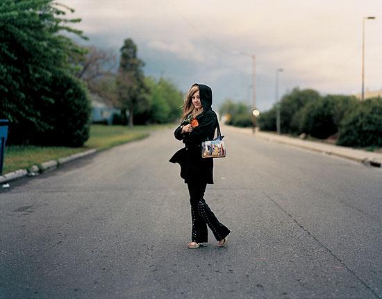 "Richard Renaldi ""Christine"", Fresno California 2003 aus der Serie ""Figure and Ground"""