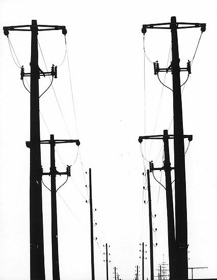 © HANNES KILIAN 'Elektrische Leitungsmasten'
