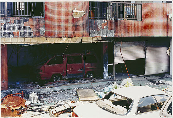 "Yoshiko SeinoRuins of a Fire, Ibaraki, 2001From the series ""The Sign of Life""C-print, 37,4 x 55,1 cmCollection Fotomuseum Winterthur© Yoshiko Seino"