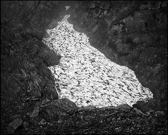 © Jean Gaumy / Magnum Photos, ITALY. Piedmont Region. Turin Province. Pellice Valley, Lauze quarry. 2006.