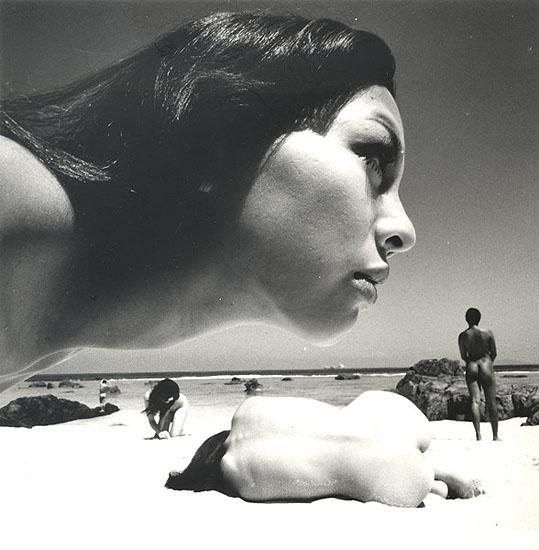 The Birth 1, 1968 , 24 x 23.5 cm, Vintage silver gelatin print, © Kishin Shinoyama courtesy Michael Hoppen Gallery