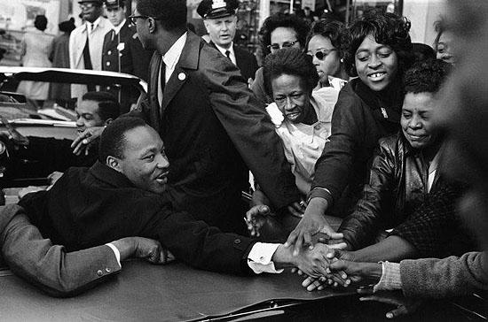 © Leonard Freed / Magnum Photos, USA. Baltimore, MD. October 31, 1964. Dr. Martin Luther King, Jr.
