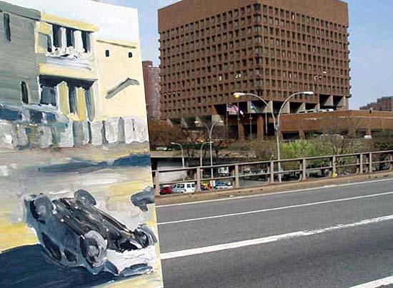 Police HQ, New York, 2004, Foto auf Dibond, 39,5 x 29,7 cm
