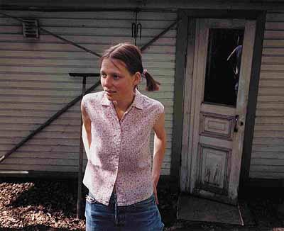 A. Kannisto, Reflet dans la vitre, 1999
