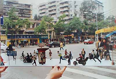 Chen Shaoxiong, Third Street, 2001 Photo collages