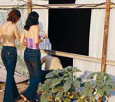Sharon Ya'ari (colour photographs, courtesy of Lisson Gallery, London)