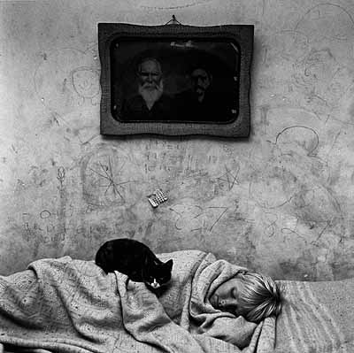 Roger Ballen: Portrait of Sleeping Girl, 1999