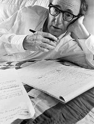 Woody Allen, New York 1966