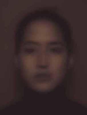 this appearance: one hour portrait # 9, 2002, c-print Edition 5, 80 x 105 cm