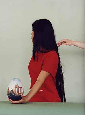 Katharina Mayer, Karuna, 2003, C-Print, Diasec 40 x 30 cm