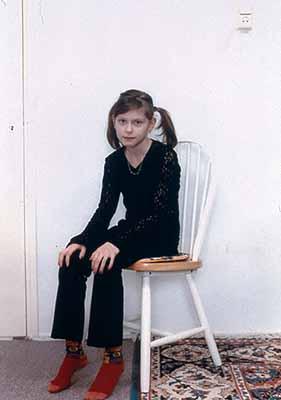 Rineke Dijkstra, Wormer Netherlands, 1998, c-print.