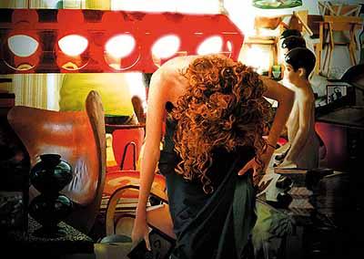 Luisa Raffaelli . Concerning her life 13, 2003 fotopittura digitale, stampa lambda 70 x 100 cm ed. 1/3