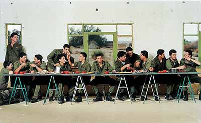 Untitled [Soldier Series #11], 1999Color photograph, 71-1/8 x 120 in.San Diego Museum of Contemporary Art