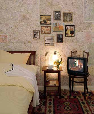 Raum . Zeit . Bild, Schlafzimmer, 2004, Diasec, 180 x 250 cm, Aufl. 5 Ex
