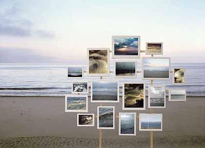 Raum . Zeit . Bild, Meer I, 2004, Diasec, 180 x 250 cm, Aufl. 5 Ex.