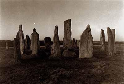 Callanish, Standing Stones, Scotland, 1985Platinum print© Kenro Izu