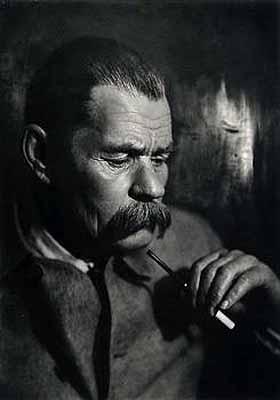 Moisei NappelbaumPortrait of Maxim Gorki, circa 1930 Vintage gelatin silver print8 1/4