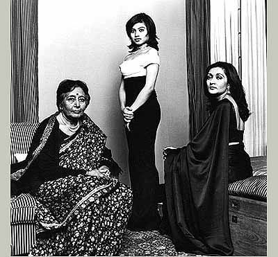 Dayanita SinghNamarata Ray, Mother and Grandmother, Calcutta 1999Courtesy the artist and Frith Street Gallery, London