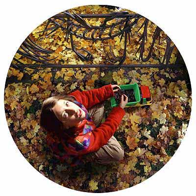 Doubt, 1999, Ø 120 cm