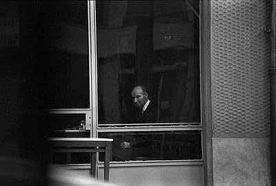 Dimitris Karadimos (1948) Coffee house in Aminta, 1973-1974.