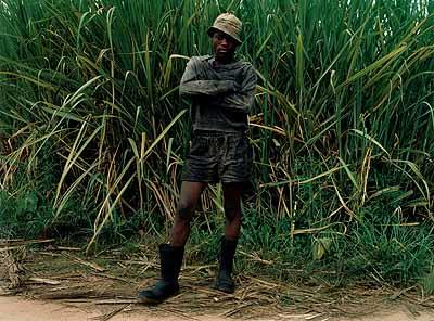 Zwelethu MthethwaUntitled2003Type C-print155x200cmJonathan GreenbergCourtesy: Jack Shainman Gallery, NY