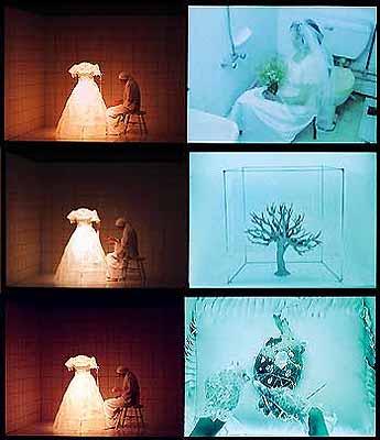 Amal El Kenawy and Abd El Ghany El KenawyThe Room 2003Video performance 20'