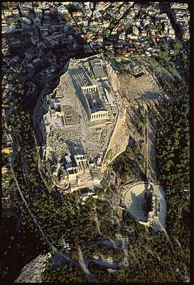 Akropolis von Athen, Griechenland, 2000, Weltkulturerbe