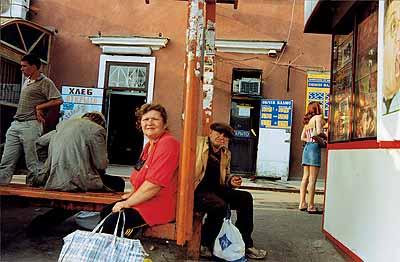 Boris MikhailovAus der SerieSomething from Ukraine, 2003C-Prints130 x 180 cm