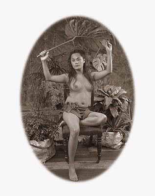 MY SAMOAN GIRL 2004–05C-type photograph, edition of 5, 80 x 60 cm photograph: coylehall post production: coylehall & Bronga Rhind Eglese courtesy the artist and Sherman Galleries, Sydney