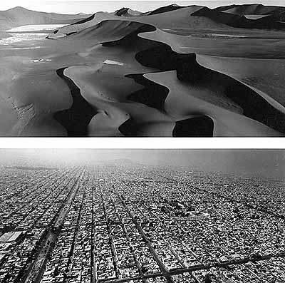 Namibia, 2000 (oben), Mexico-City, 1999 (unten)