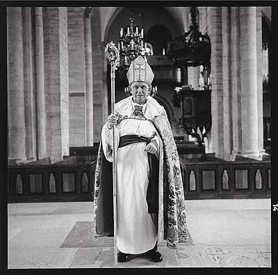 Bischof von Visby, Gotland frühe 1960er Jahre, Neuprint, 27,3 x 27,6 cm
