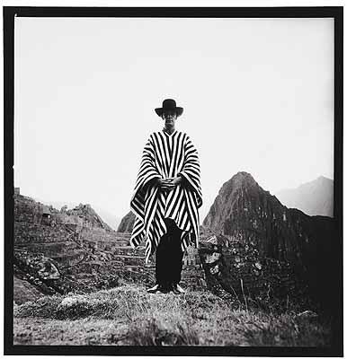 Selbstporträt, Peru 1971, Vintage, 27,5 x 27, 8 cm