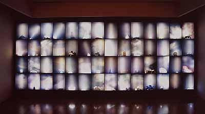 Shi YongShanghai Sky2004Light-box Installation238 x 555cmCourtesy of the artist and ShanghART Gallery, Shanghai