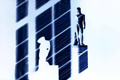 Akim Monet, SHADOW, 2004 – Ed. 3Ilfochrome laminated  face-in polished plexiglas31 1/2 x 47 1/4 x 1 3/16 in. (80 x 120 x 3 cm)