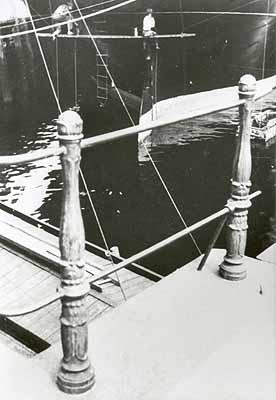 Ella Bergmann-Michel:Hafenszene (Rotterdam), 1927Bromsilbergelatine