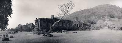 The ruins of Wat Phu Champasak, Southern Laos, February 2005