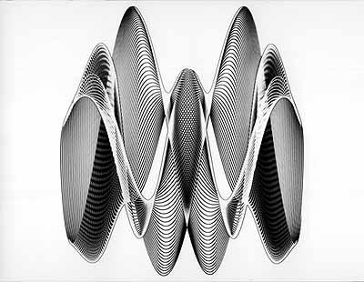solarisiertes Rhythmogramm © H. Heidersberger 1950er