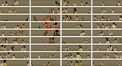© Pablo Zuleta Zahr Chilean women in yellow - 2005 C-print 143 x 243cm.edition 6