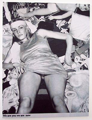 Astrid Klein Ohne titel (we are you...), 2001-02 Pigment auf Leinwand 210 x 159,5 cm