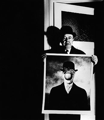 Bill Brandt, Rene Magritte, 1966, gelatin silver print. © Bill Brandt Archive LTD.