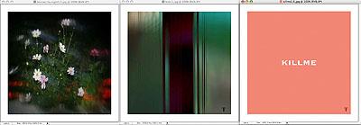 FKK, 2005 Glas 3 Bilder a 40 x 40 cm Edition 6 + 1 AP