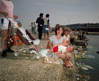 Martin Parr. England. New Brighton. The Last Resort. 1985. © Martin Parr/Magnum. Courtesy of Rocket Gallery.